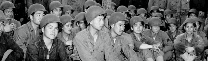 Privates First Class William K. Nakamura & Frank H. Ono, USA (July 4, 1944)