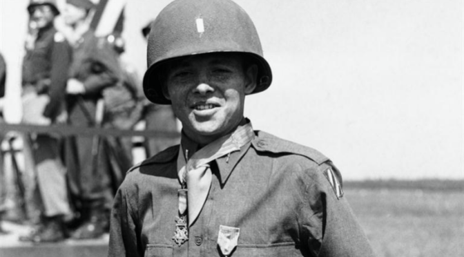 Second Lieutenant Audie L. Murphy, USA (January 26, 1945)