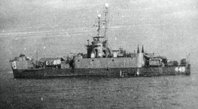 LTJG Rufus G. Herring, USNR (February 17, 1945)