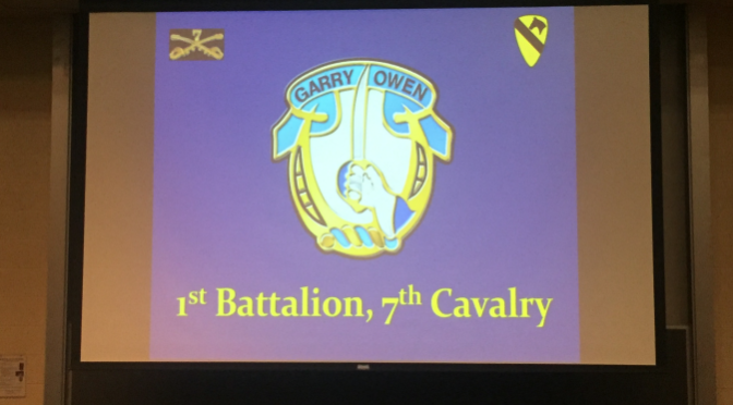 Colonel Tony Nadal – Lecture on the Battle of #IaDrang