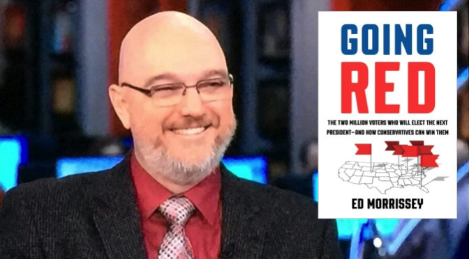 #TFH on #VLR 4/23: @EdMorrissey talks about @GoingRedBook! Book giveaway!